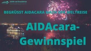 AIDAcara Gewinnspiel: Welcome Party in Hamburg mit Feuerwerk