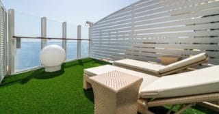 AIDAnova private Cabanas © AIDA Cruises