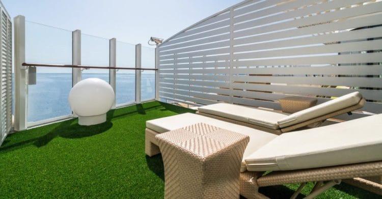 AIDAnova private Cabanas © AIDA Cruises