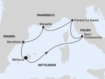 AIDAnova: Mediterrane Schätze / ©AIDA Cruises
