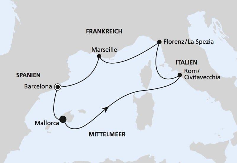 Aidanova Mittelmeer Kreuzfahrten Mediterrane Sch 228 Tze 2019 Amp 2020