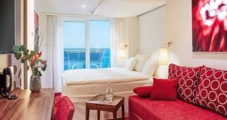 AIDAnova Verandakabine (Beispielbild) © AIDA Cruises