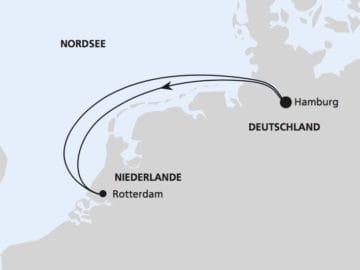 AIDAperla: Kurzreise ab Hamburg / ©AIDA Cruises