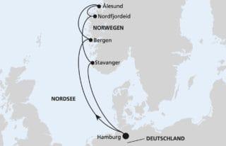 AIDAperla Norwegens Küste 1 @ AIDA Cruises