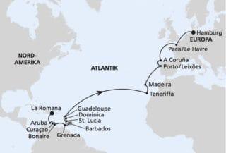 AIDAperla: Von der Dominikanischen Republik 2 / ©AIDA Cruises