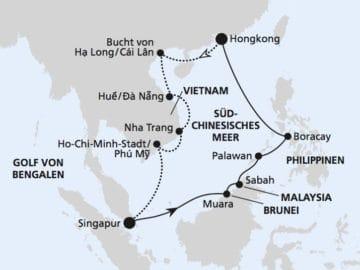 AIDAvita: Südostasien / ©AIDA Cruises