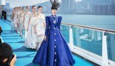 Fashion-Show auf der Costa neoRomantica