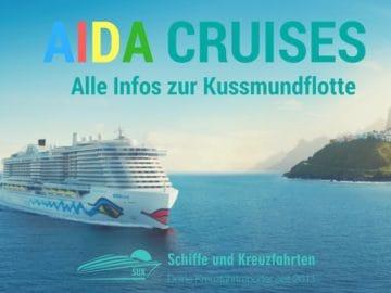 AIDA Cruises - Alle Infos zur Kussmundflotte