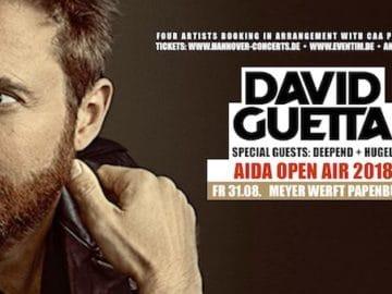 AIDA Open AIr mit David Guetta in Papenburg / © AIDA Cruises