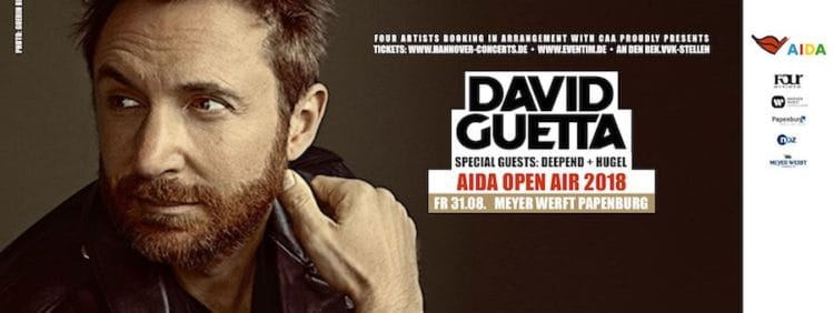 AIDA Open AIr mit David Guetta in Papenburg / © AIDA Cruises