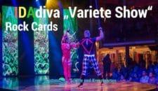 """Varieté Rock Cards – AIDA Show"