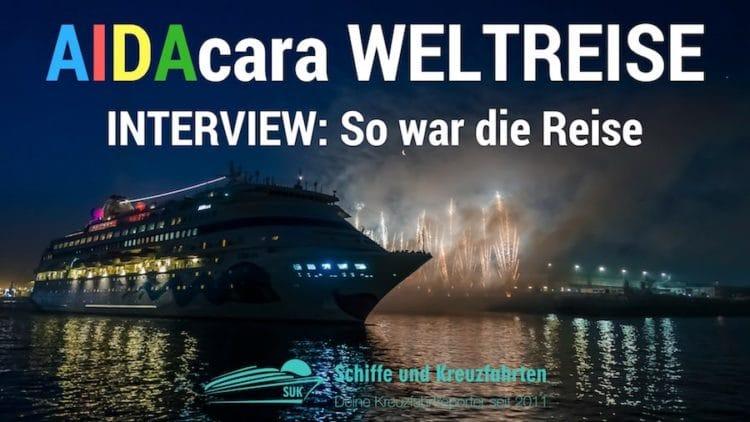 AIDAcara Weltreise: Interview mit Petra - so war die Reise
