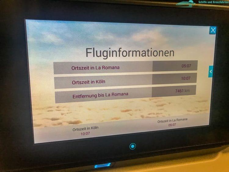 Fluginformation Köln/Bonn - La Romana