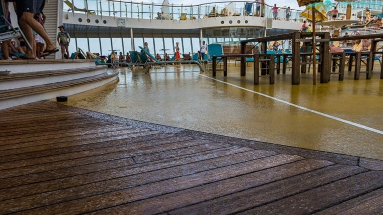 Regen in der Karibik