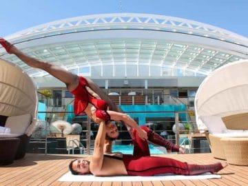 Circus Roncalli ist an Bord der Europa 2 in 2018 / © Hapag Lloyd Cruises