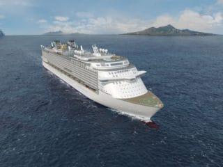 Start des Bau von der Global Class für Star Cruises / © MV Werften