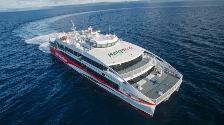 So sieht die neue FRS Helgolandfähre aus / © FRS