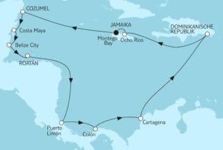 Neue Mein Schiff 1: Mittelamerika 2