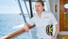 Nicole Langosch – AIDA Kapitän: Erste Frau an Bord von AIDA Cruises als Kapitän im Einsatz