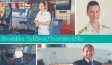 Weibliche Kapitäne auf Kreuzfahrtschiffen