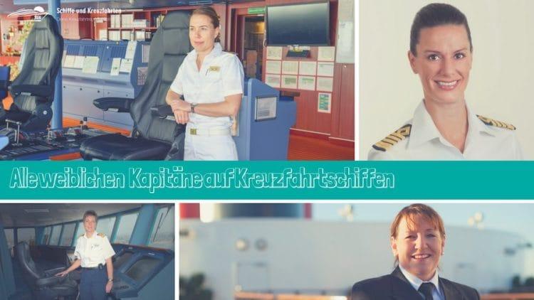 Frauen als Kapitän an Bord von Kreuzfahrtschiffen