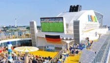 Fussball WM 2018 auf AIDA Kreuzfahrtschiffen