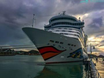 AIDAdiva auf dem Weg nach Europa - Skagen, Hamburg, Bremerhaven?!