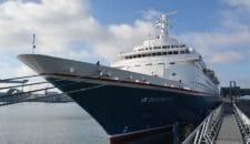 Kiel eröffnet Kreuzfahrtsaison 2018 mit der MS Boudicca