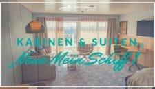 Neue Mein Schiff 1: Kabinen und Suiten