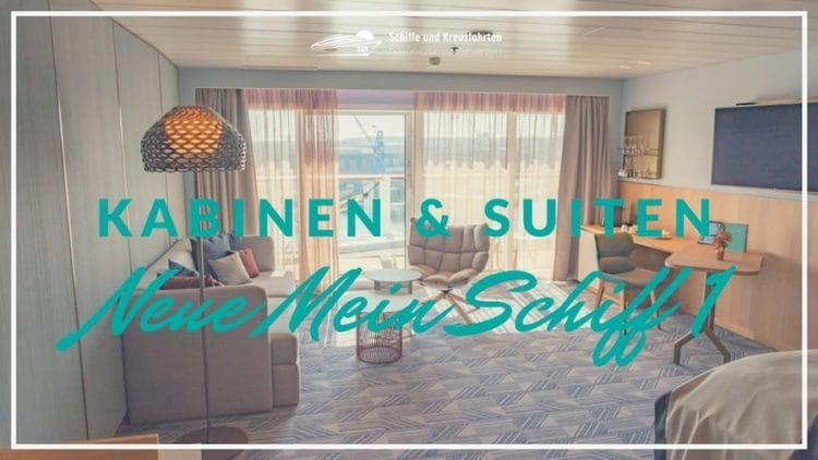 Alle Kabine und Suiten der neuen Mein Schiff 1