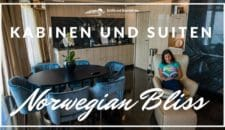 Norwegian Bliss: Kabinen und Suiten (Videos und Bilder)