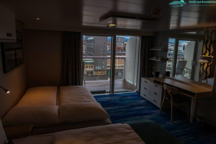 Neue Mein Schiff 1 Balkonkabine barrierefrei 9039