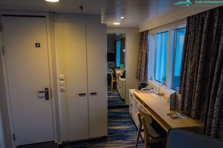 Mein Schiff 1 Familienkabine Balkon 6004