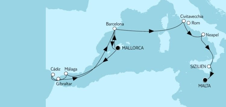 Mein Schiff Herz Mallorca bis Malta 2 / © TUI Cruises