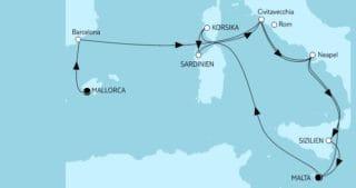 Mein Schiff Herz: Mallorca bis Malta 3