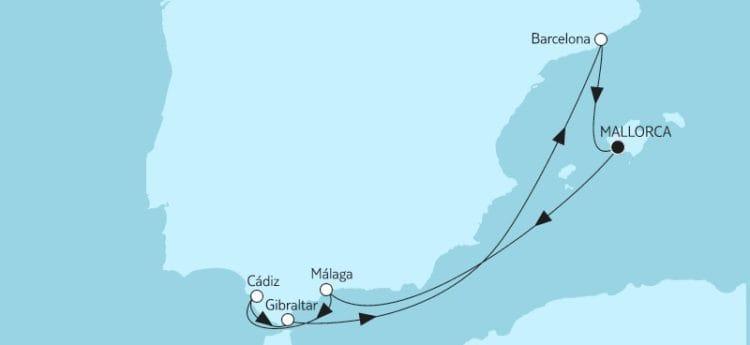 Mein Schiff Herz: Mittelmeer mit Andalusien 4 / ©TUI Cruises