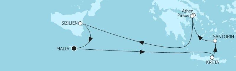 Mein Schiff Herz: Mittelmeer mit Griechenland 1 / ©TUI Cruises
