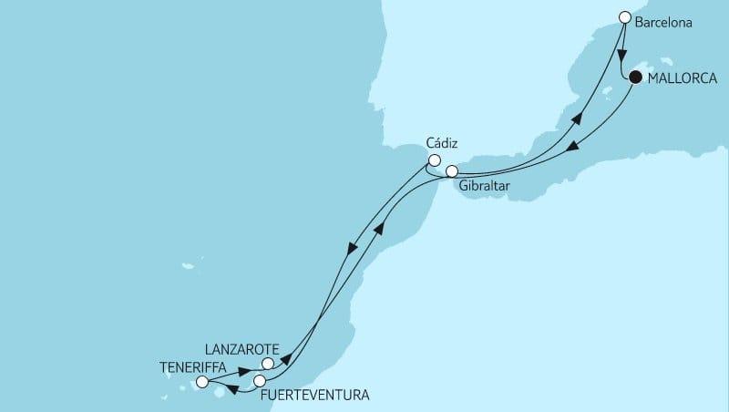 Mein Schiff Herz: Mittelmeer mit Kanaren 3 / ©TUI Cruises