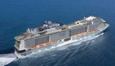 MSC Bellissima wird China-Schiff in 2020