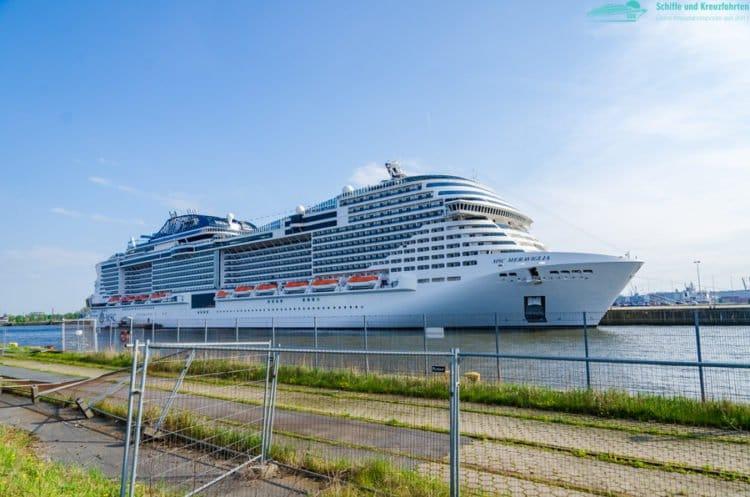 Happy Birthday MSC Meraviglia! - Dritter Geburtstag des Kreuzfahrtschiffes