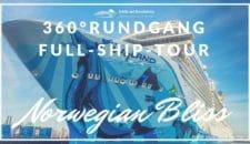 Norwegian Bliss: 360° virtueller Rundgang + Speed-Tour