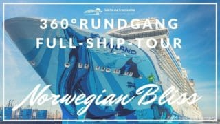 Norwegian Bliss Rundgänge - virtuelle Touren über den Neubau