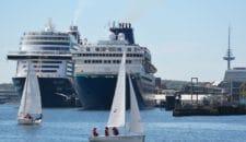 Kiel: Erstanlauf der spanischen Pullmantur Cruises