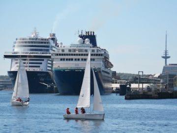 MS Zenith Erstanlauf in Kiel / ©Port of Kiel