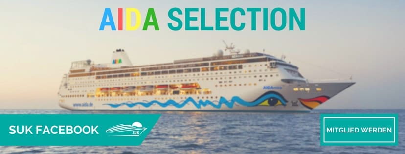 Werde kostenfrei Mitglied in der großen AIDA Selection Gruppe