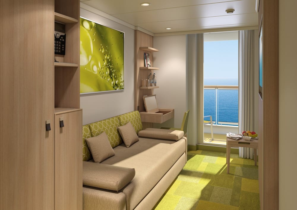 AIDAnova Einzelkabine mit Balkon / © AIDA Cruises