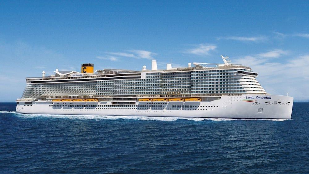 Costa Smeralda - der LNG Neubau von Costa Kreuzfahrten / © Costa Cruises