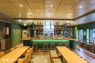 Die Ebbe & Flut Bar auf der Mein Schiff 1