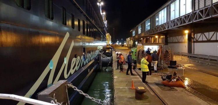 Mein Schiff 3 sitzt in Southampton fest - Stellungnahme von TUI Cruises