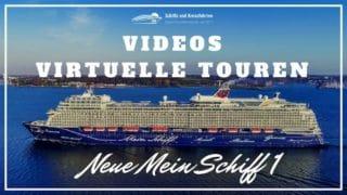 Neue Mein Schiff 1 in Videos - Rundgänge und virtuelle Touren über das Schiff